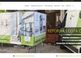 diseño pagina web de servicios, diseño web en valencia