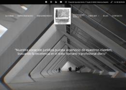 web para abogados, diseño web abogados